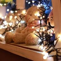 3M 400 Milky Ball Firecracker LED String Light Rattan Branch Ball Fairy Light For New Year Christmas Wedding Decoration 45
