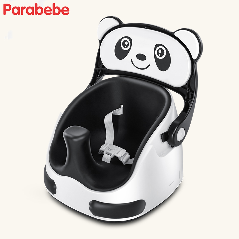 Double Use Booster Seat And Baby Stroller Panda Walking Baby Chair Portable Booster Chair For Children Chair Feeding Highchair [yamala] baby plush toys portable seat kids feeding chair booster seat education feeding seat baby toy page 2