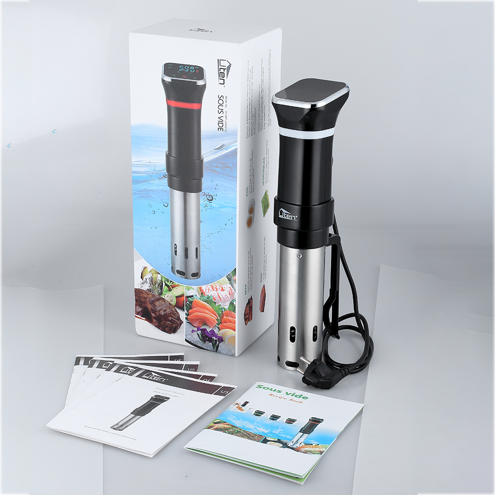 AUGIENB LCD-Sous-Vide Kocher Zeit Immersion Circulator langsam kochen Maschine U