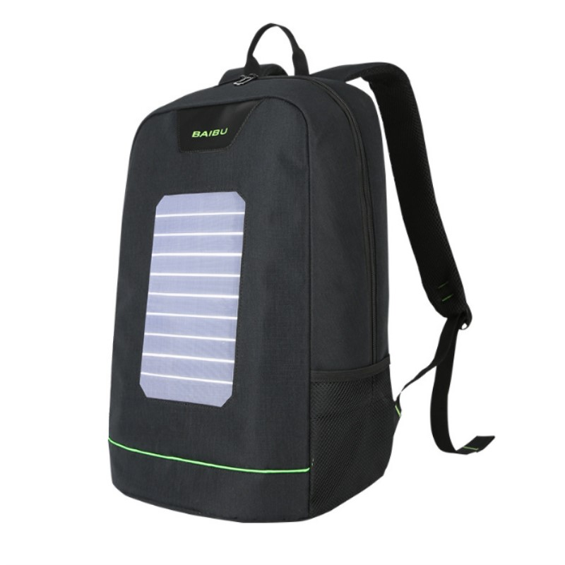External USB Solar Charge Backpack for Men Women Laptop Backpack Waterproof Business Fashion Travel Backpack school bag protective plastic back case cover for iphone 6 plus black