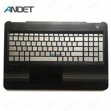 Coque supérieure repose-paume pour ordinateur portable HP Pavilion 15-BC, série 15-bo, clavier américain rétro-éclairé, Touc hp ad 858971 – 001