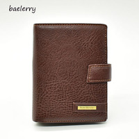 Multifunctional Business Passport Wallets Men Quality Pu Leather Casual Travel Hasp Passport Cover Male Solid Credit