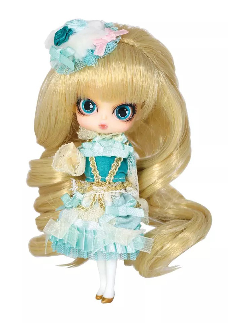 LITTLE PULLIP PRINCESS MINTY with box and beautiful dress mini doll girl gifts lovely toy кукла pullip gosomi isul