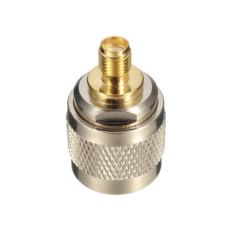 1PC L16 N Male To SMA Female Nickel Gold Plating Straight RF Coxial Connector Adapter Plug Jack Socket1PC L16 N Male To SMA Female Nickel Gold Plating Straight RF Coxial Connector Adapter Plug Jack Socket