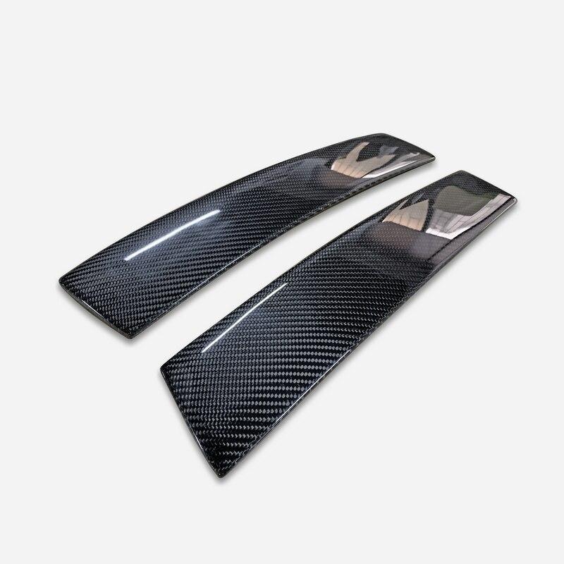 Revêtement de pilier B en Fiber de carbone Nissan Skyline R34 GTR finition brillante, partie latérale de la porte, garniture de course