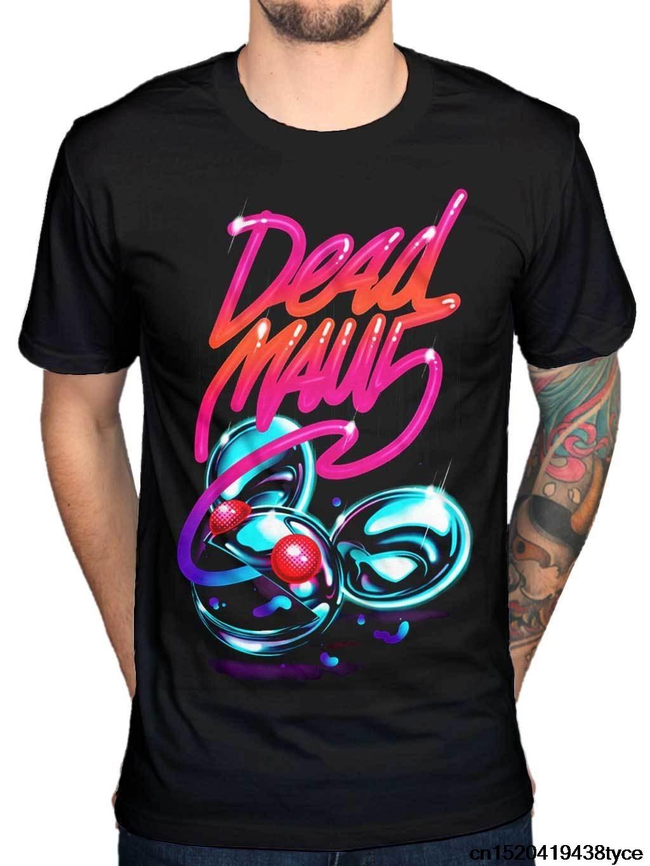 Design t shirt neon colors - Gildan 2017 Hipster Deadmau5 Neon Logo T Shirt Kat Von D House Music Dance Trance Design T Shirt Hipster Tops Men S Tees