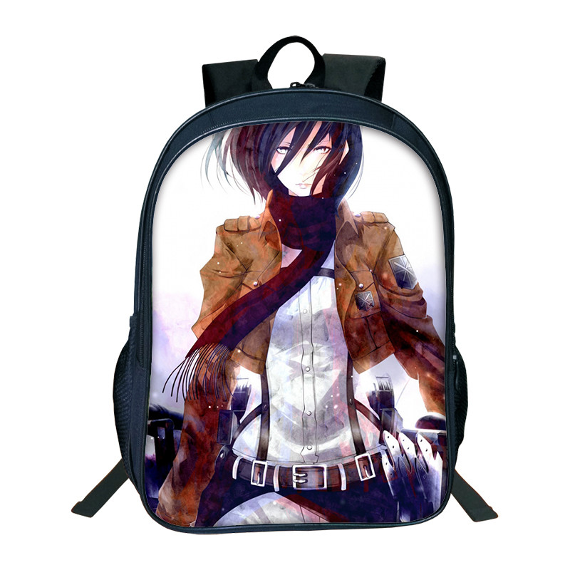2018 Hot Sale Attack On Titan Bag Japan Anime Printing Backpacks For Teenagers School Student Bag Fans Best Collection Souvenirs2018 Hot Sale Attack On Titan Bag Japan Anime Printing Backpacks For Teenagers School Student Bag Fans Best Collection Souvenirs