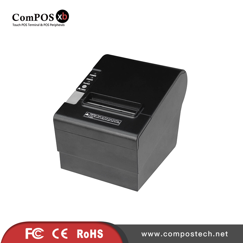 Compostech pos system accessories/high quality 80mm thermal printer POS80250 for retail shop