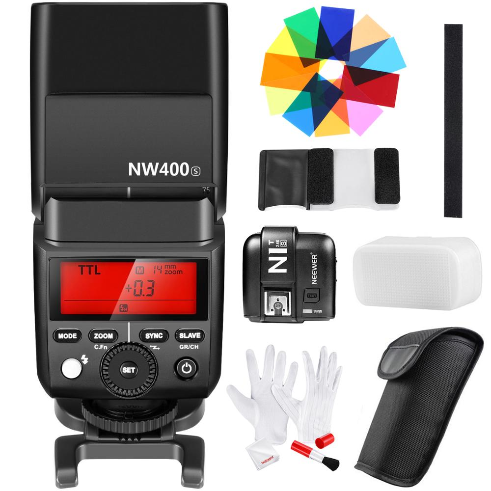 Neewer 2.4G Wireless 1/8000s HSS TTL GN36 Flash Speedlite Master/Slave with N1T-S Trigger 12 Color Filters Cleaning Kit for SonyNeewer 2.4G Wireless 1/8000s HSS TTL GN36 Flash Speedlite Master/Slave with N1T-S Trigger 12 Color Filters Cleaning Kit for Sony