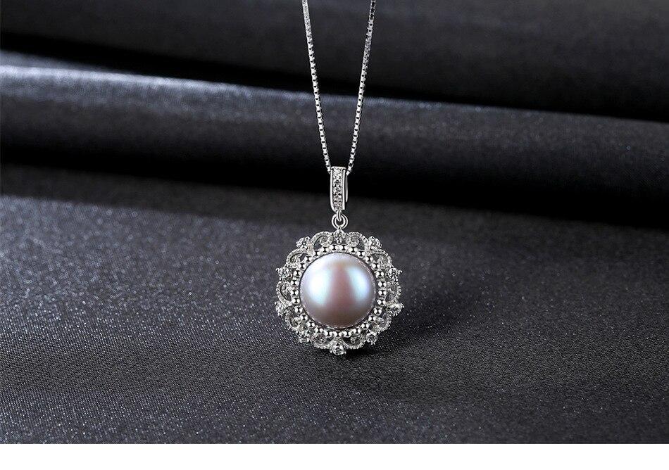 New Coreano S925 sterling silver collana di perle micro-set 3A zirconio selvaggio femminile clavicola collana PPS01