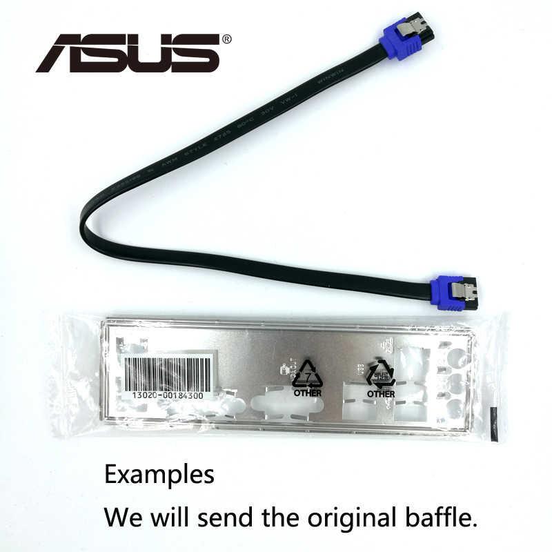 اللوحة الام لجهاز Asus P5QL PRO المكتبي P43 المقبس LGA 775 Q8200 Q8300 DDR2 16G ATX UEFI BIOS اللوحة الام الأصلية المستخدمة للبيع