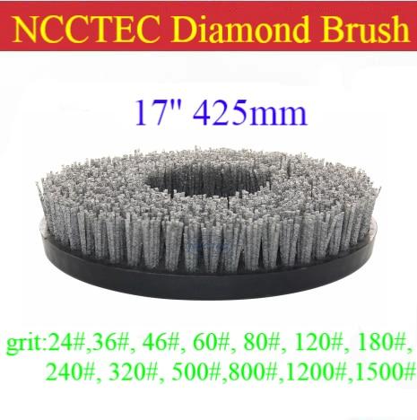 17 Алмазная абразивная щетка | 425 мм круглая щетка для гранита | представляет естественный цвет и лучший Хрусталь Текстуры