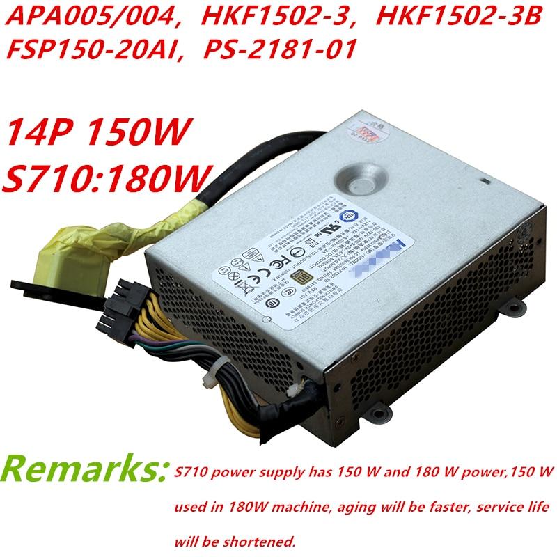 Nouvelle PSU Pour Acbel S510 560 590 700 710 S720 770 M7100Z/101Z Alimentation APA005/004 HKF1502-3 HKF1502-3B FSP150-20AI PS-2181-01
