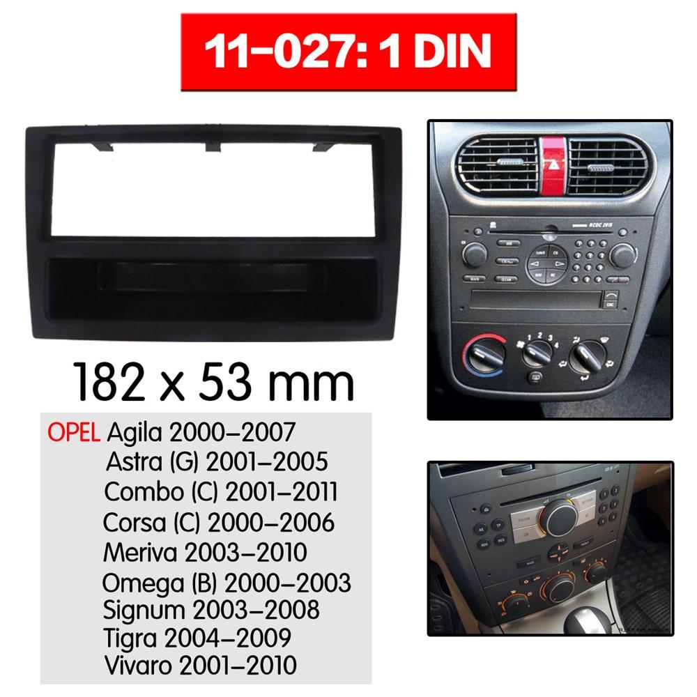 Corsa 00/> Vectra Marco Radio  Kit Soporte  autoradio Opel Agila