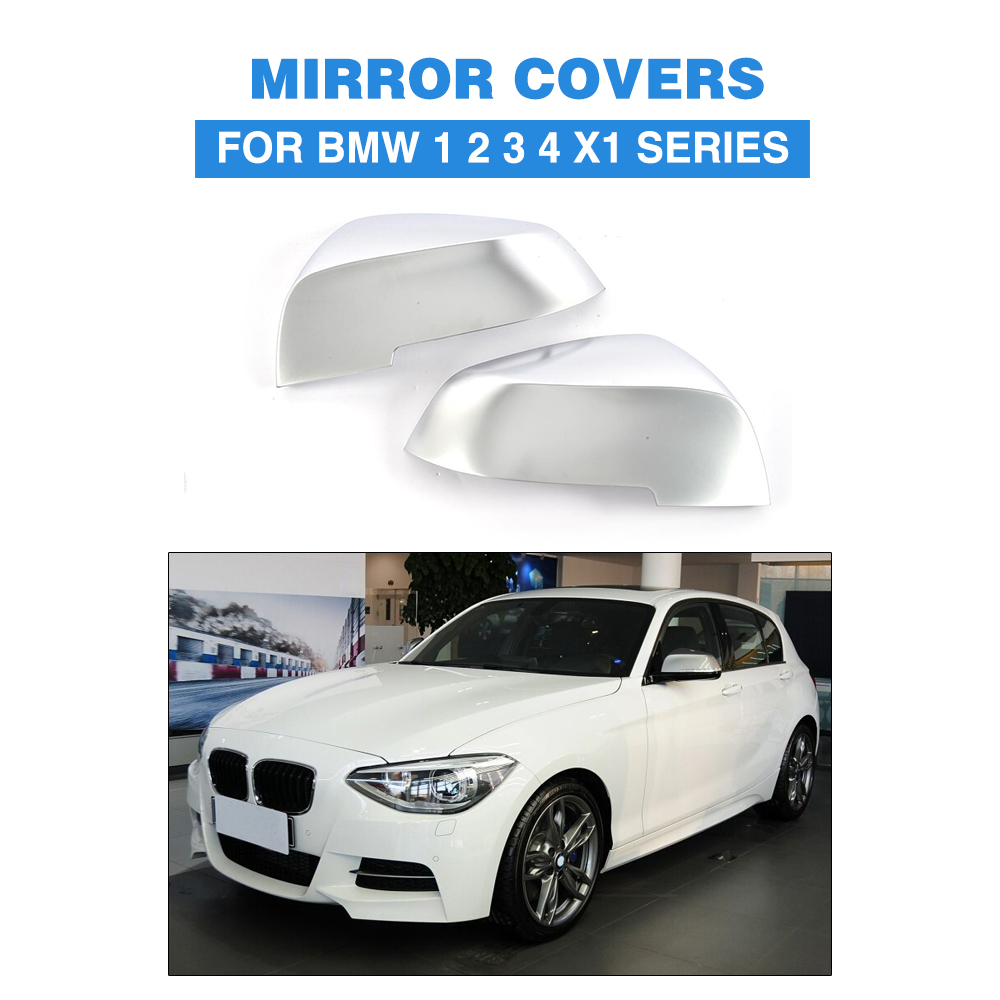 ally chrome full replacement Side Mirror Covers for BMW 1 2 3 4 Series F20 F22 F30 F31 F35 F34 GT F32 F33 X1 Car Styling car styling for bmw new 1 2 3 4 series gt f30 f31 f34 touring 320i 328i accelerator brake foot rest pedal pads non slip covers
