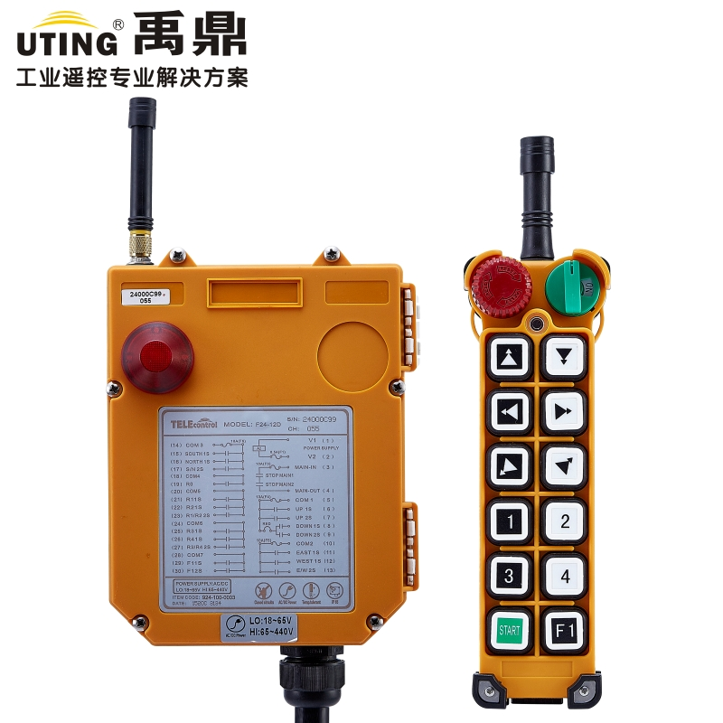 Telecontrol F24 12D industrial universal wireless radio remote control  for crane|remote control|remote control for crane|wireless radio remote control - title=