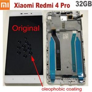 Image 4 - 100% מקורי חדש Xiaomi Redmi 5 בתוספת 10 מגע מסך Digitizer LCD תצוגת הרכבה חיישן עם מסגרת או Redmi 4 ראש 32GB