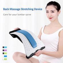 Массаж спины растягивающее устройство талии шеи массажер для похудения живота Chiropractic мужчины женщины фитнес оборудование брюшной полости устройство