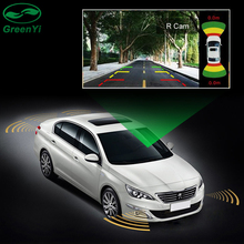 GreenYi 2 Video Input Car Parking Sensor System, Dual Channe