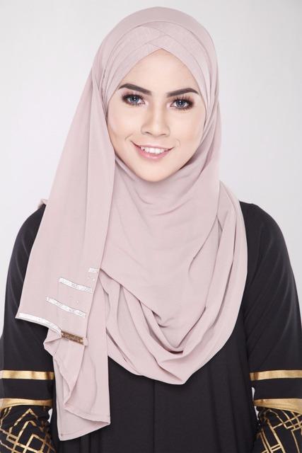 Nuevas Mujeres Musulmanas Abaya hijab Bufanda Islámica Pañuelo Que Cubre Cubierta de Gasa A Juego Fácil Lleva La Moda Spandex Hijab Interno