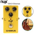 NUX CH-3 Electric Guitar Effect Pedal Chorus Low Noise BBD True Bypass Guitarra Effect Pedal High Quality Guitar Accessories