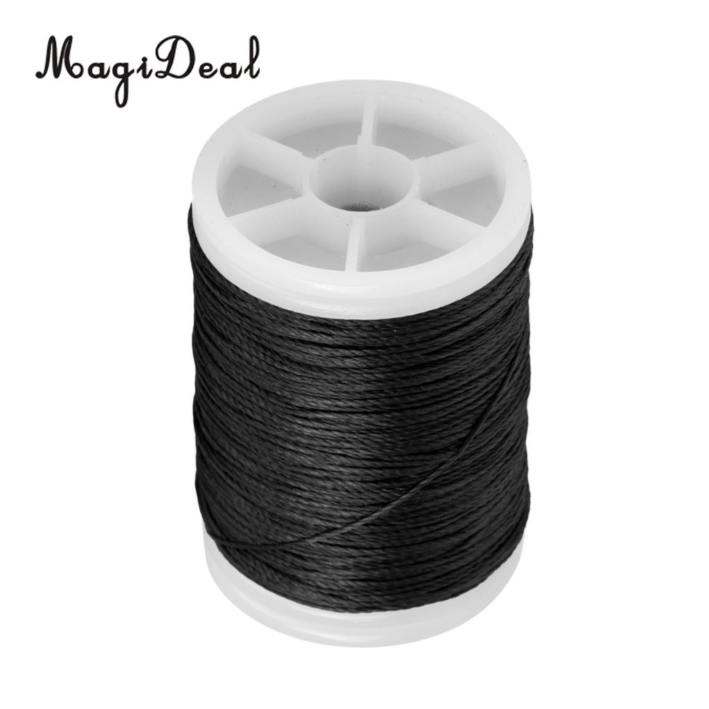 MagiDeal 110m Bowstring Material Serving Thread Black + Bow String ...