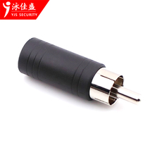 High quality Jack 3.5mm RCA audio adapter to male cctv tester accessoires gizli monitor