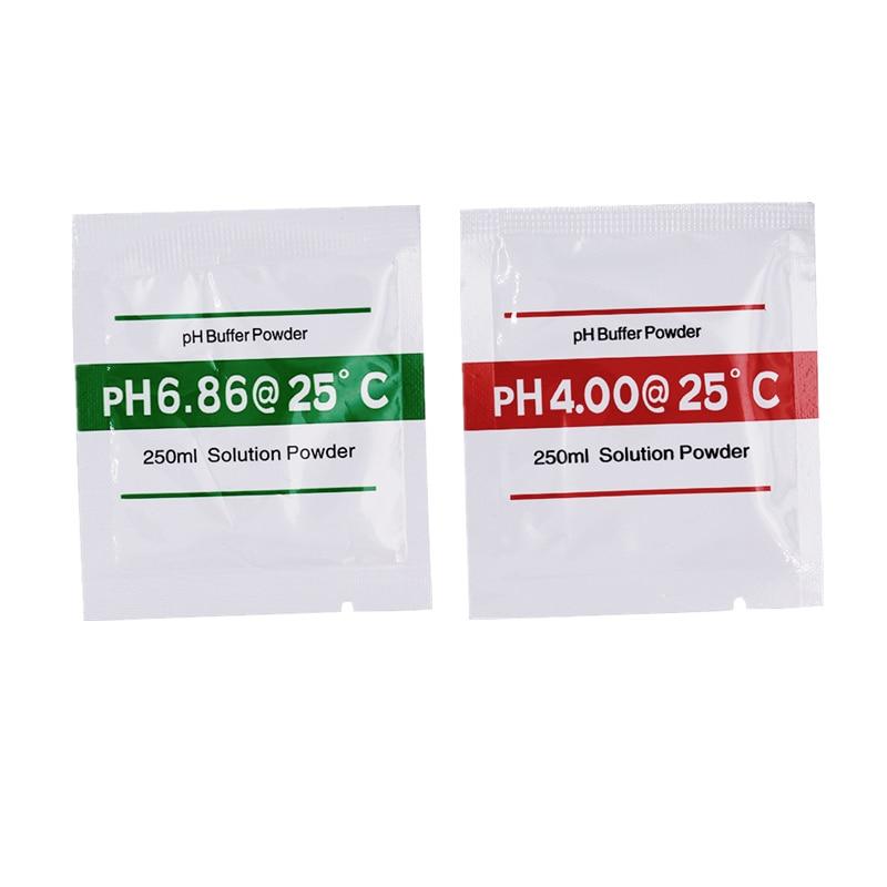 Solução de Calibração pó de Amortecedor de ph para Medidor de ph Peças 4.00 6.86ph 15% 20