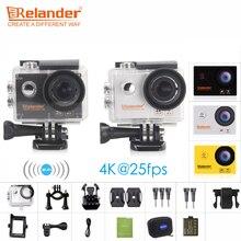 """Original Crelander R8 4 K 170D HD Action Camera 2 """"à prova d' água Ir Pro Extreme Sport Cam DVR VS EKEN H9 Câmeras de Vídeo de Esportes de Ação"""