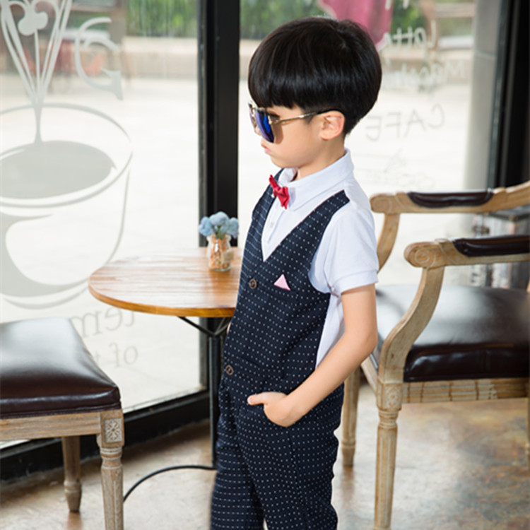 58739f818842 2018 Ceremonial Baby Suit Kids Clothing European Style Baby Boy ...