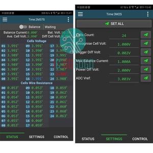 Image 4 - CAN Bus RS485 Protocol Temp 1A 2A Balance Battery Active Equalizer Bluetooth 2S ~ 24S BMS Li ion Lipo Lifepo4 LTO Balancer JK