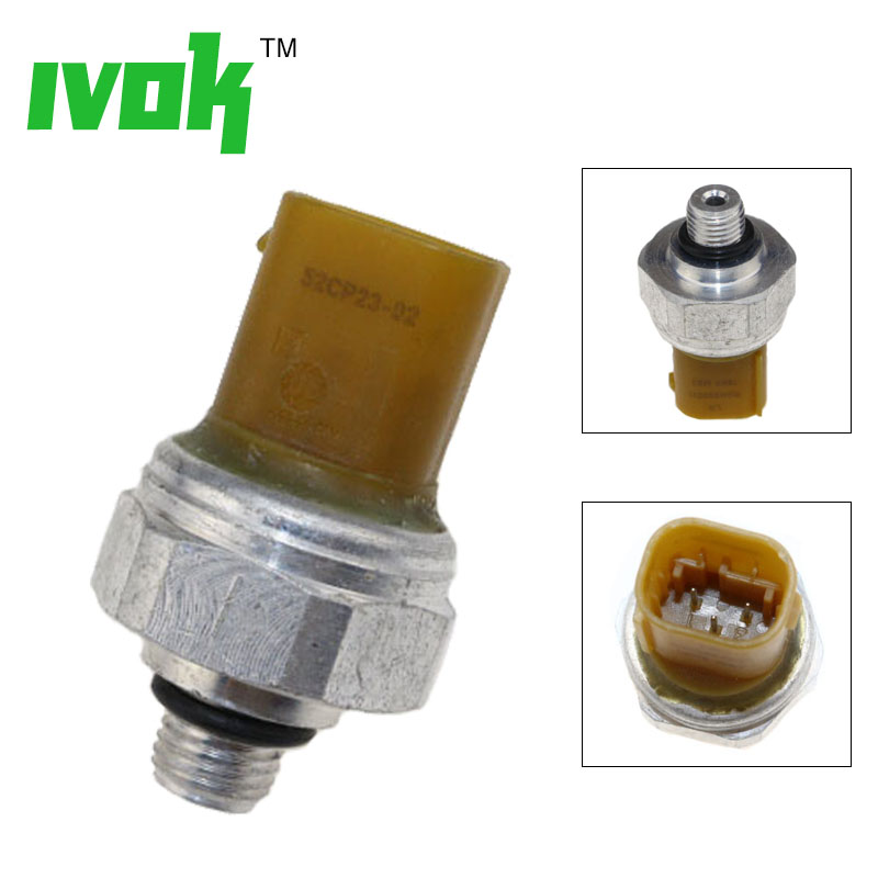 Original Air Suspension Compressor Pressure Sensor For Land Rover Range LR3 Sport LR4 52CP23 02 RQH500011