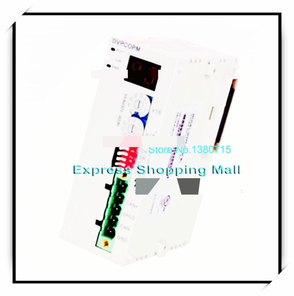 New Original DVPCOPM-SL Delta PLC CANopen master communication module plc xbl c41a cnet communication module