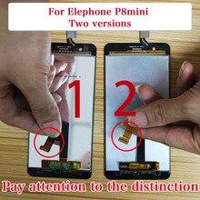 Nova original para elephone p8 mini touch screen, lcd display digitalizador, montagem com peças de reposição 5.0 polegadas