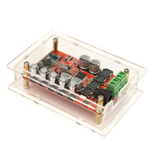 TDA7492P Wireless Bluetooth 4.0 Hifi Audio Digital Amplifier Board Acrylic Shell New
