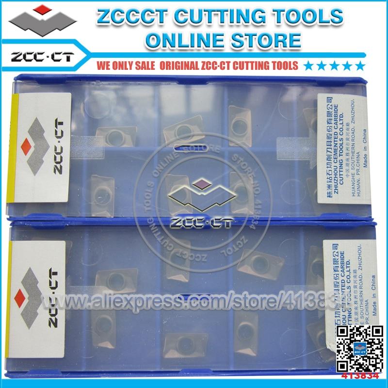 50pcs APKT11T308 PM YBG202 APKT 11T308 PM APKT11T308 ZCC CT cemented carbide milling insert positive inserts