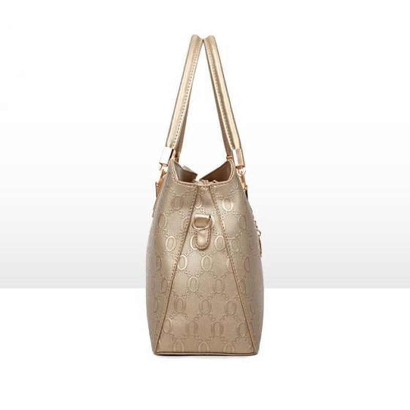 LUYO De Gravação De Couro Marca de Moda Bolsa Bolsas De Luxo Mulheres Sacos Designer de Ouro Pochette Crossbody Saco Top-handle Dia