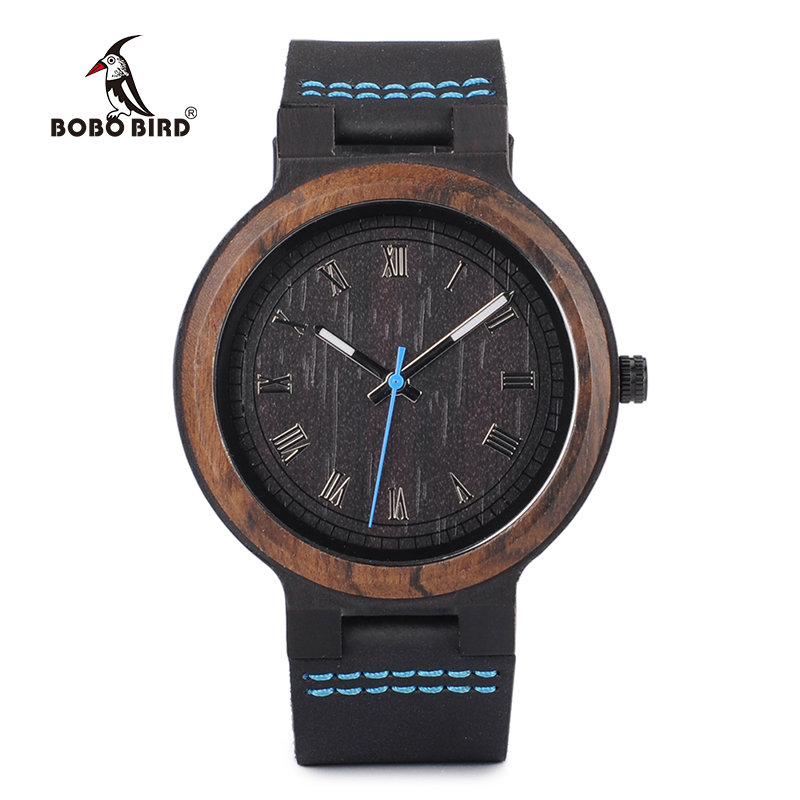 все цены на BOBO BIRD Bamboo Wooden Watches Mens Womens wood Quartz unisex wrist Watch erkek kol saati In Gift Box