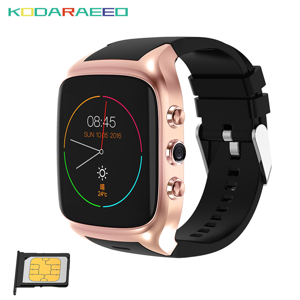 X01s Android Smart Watch MTK6580 ROM8GB+RAM512 Bluetooth Watch phone GPS+3G+WiFi+GPRS Clock watch for Android Phone smartwatch цена