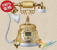 2014 하이 엔드 유럽 클래식 전화 특별 골동품 전화 엔드 행운의 전화 판매 정품 옥 회전 다이