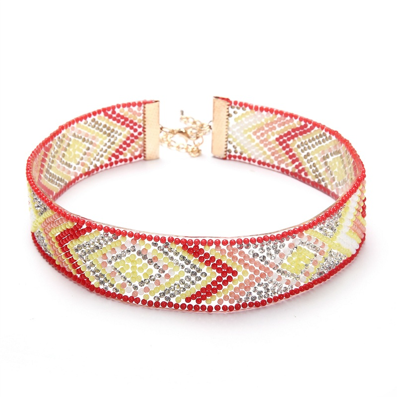Naomy & ZP Beads Collar Choker մանյակ Գոտիկներ - Նորաձև զարդեր - Լուսանկար 4
