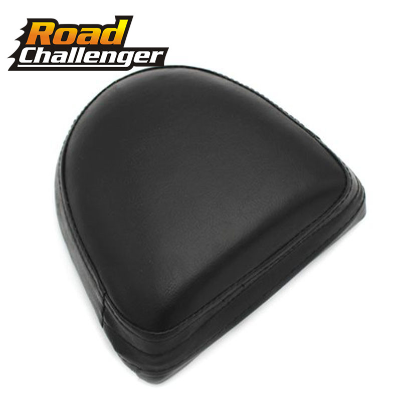 Universal Rear Passenger Sissy Bar Backrest Black Cushion Pad For Harley For Suzuki For Yamaha Black Motorcycle Accessories