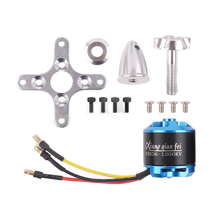 1PC Brushless Motor D3536(2814)<font><b>1200KV</b></font> D3542(2820)920KV High Load Engine for RC Aircraft X8 FX61 Fixed Wing Glider image