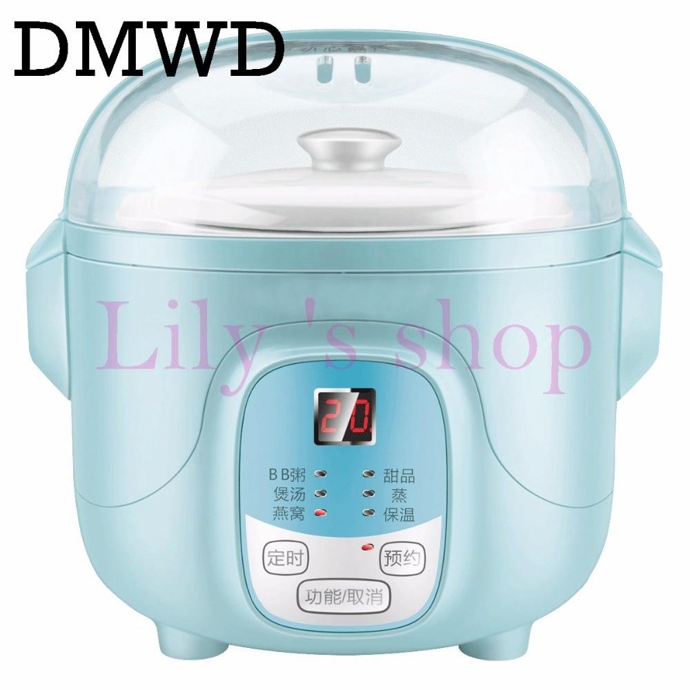 DMWD Multifunction slow cookers Water Stewing Soup Porridge Pot ...