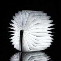 Portable Wood Book Lamp Folding LED Night Light USB Rechargeable for Children Kids Studying Reading Bedside Bedroom Living Room