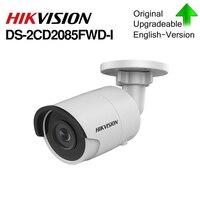 Hikvision Original IP Camera 8MP DS 2CD2085FWD I Bullet network CCTV Camera Updateable POE WDR POE SD Card Slot