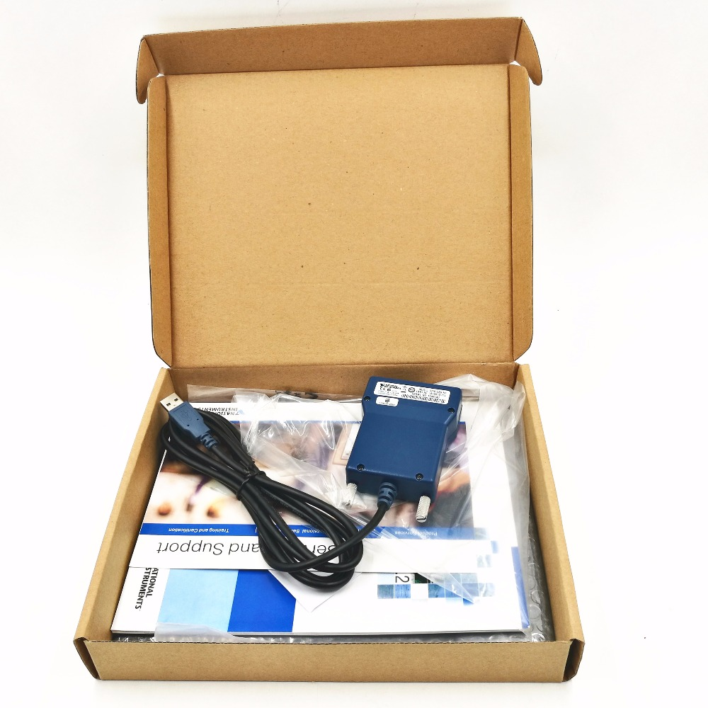 778927-01 NI GPIB-USB-HS, GPIB card new original data acquisition card With Box cable CD ni pci gp ib no 7224 contec acquisition card