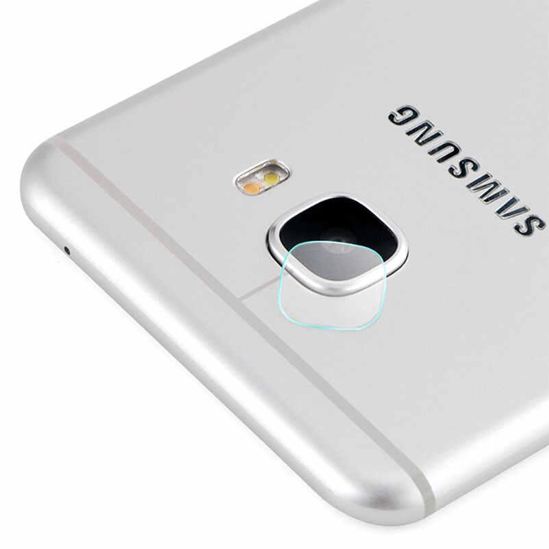 Trở lại Máy Ảnh Ống Kính bảo vệ màn hình tempered glass Đối Với Samsung galaxy J7 Thủ a6 2018 c5 Pro lưu ý 7 5 4 3 phim trường hợp Điện Thoại bảo vệ