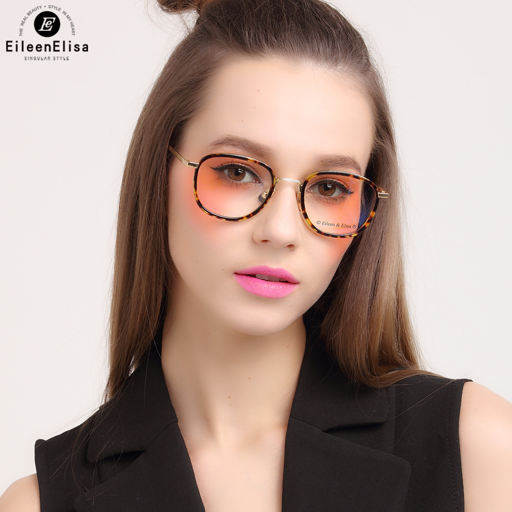 ee vintage clear lens glasses women tortoise acetate eyewear frame women eyeglasses spectacle frame reading glasses