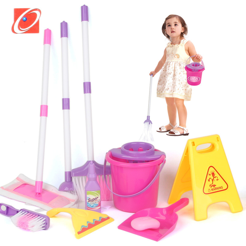 Children Play House Toy Broom Baby Girl Toys 1 2 3 Year Old Girls